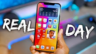 iPhone 12 Pro Max - REAL Day in the Life Review!
