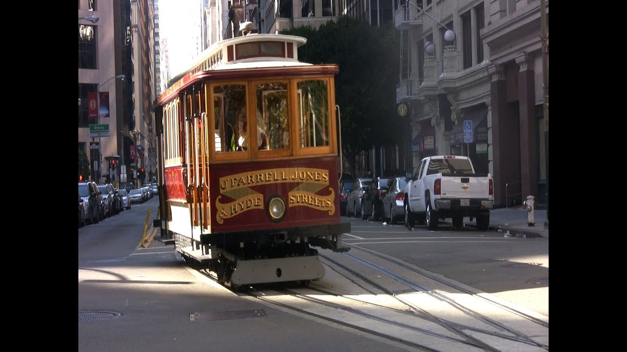 cable car san francisco youtube. Black Bedroom Furniture Sets. Home Design Ideas