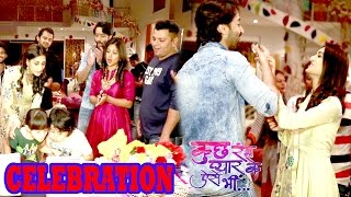 Kuch Rang Pyaar Ke Aise Bhi Cast celebrate 1 year Completion | Interview of Shaheer Sheikh