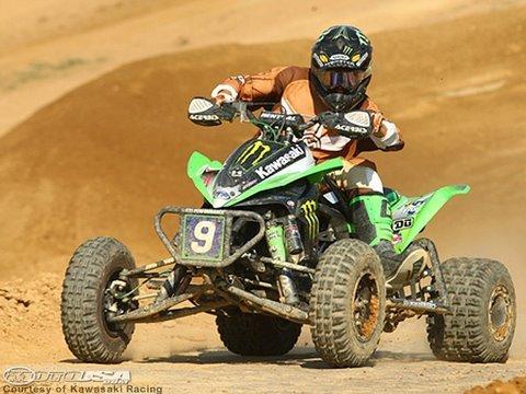 Josh Creamer's Monster Kawasaki KFX450R ATV - MotoUSA - YouTube