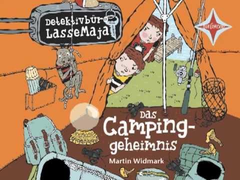 Das Campinggeheimnis (Detektivbüro LasseMaja 8) YouTube Hörbuch Trailer auf Deutsch