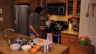 Cooking With Tony: Steamed Salmon With A Citrus Vinaigrette