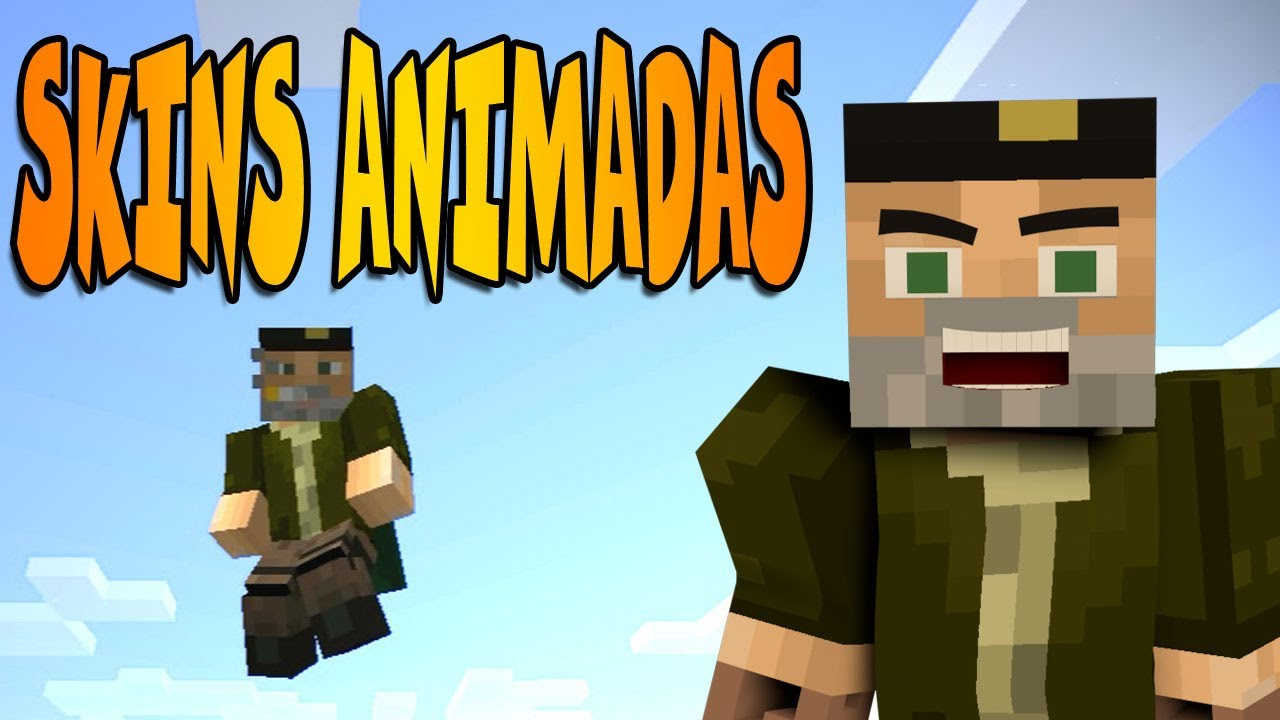 SKIN ANIMADA MINECRAFT ANIMATED PLAYER MOD REVIEW YouTube - Skin para minecraft willyrex