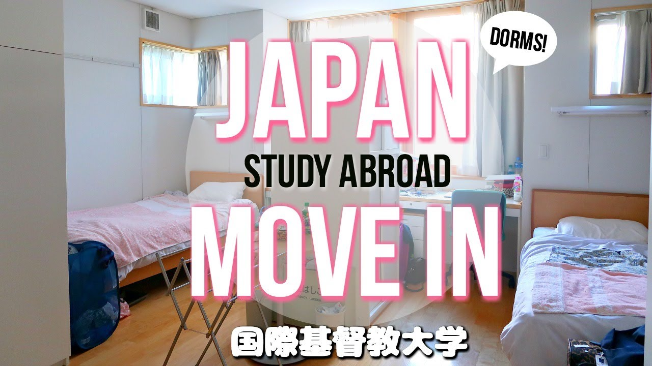 College Move In Japanese Host University Dorm Tour UCEAP Study Abroad