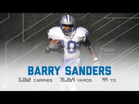 Barry Sanders Career Highlights | NFL