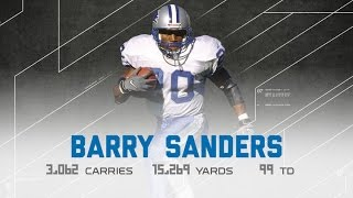 Barry Sanders Career Highlights | NFL