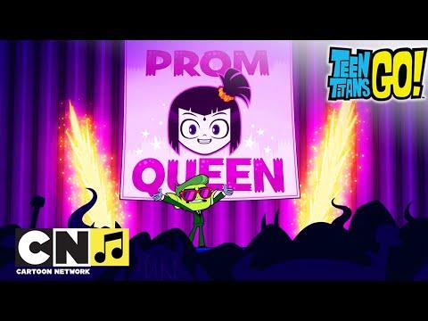 Karaoke ♫ Haideți tineri titani ♫ Raven regina balului ♫ Cartoon Network