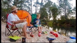 Kayak Camping, Fishing and Banga Sangas
