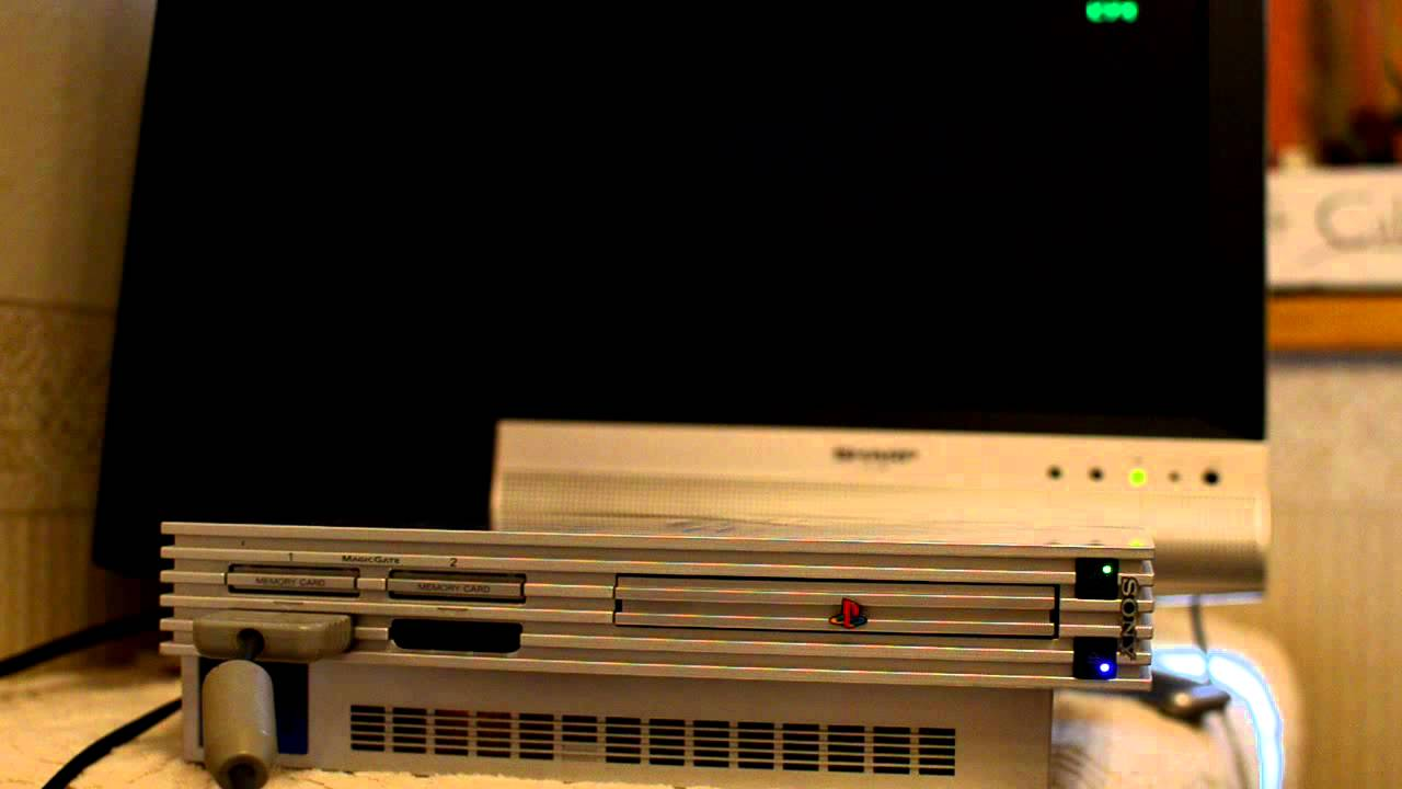 Sony PlayStation 2 Silver Console (NTSC-J)- SCPH-39000S, TEST VIDEO