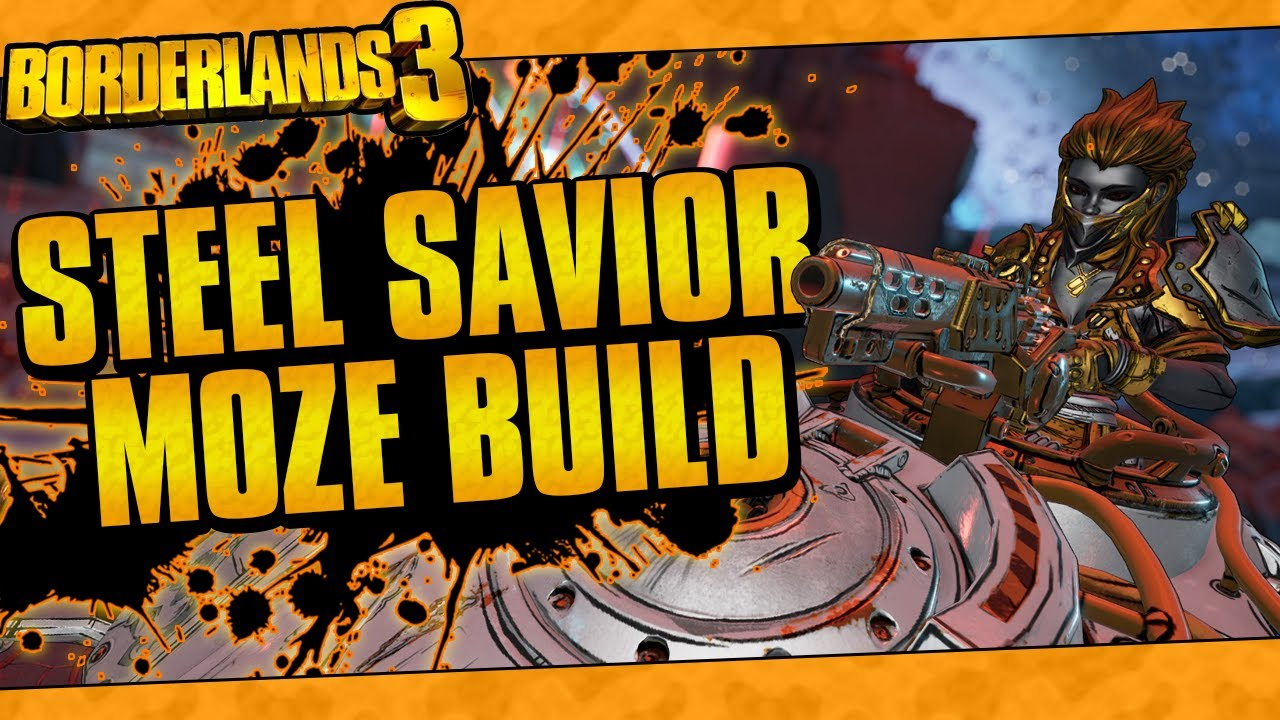 Borderlands 3 | Steel Savior Moze (Best Iron Bear Build, Insane Damage, Lvl 65 Mayhem 10!) thumbnail
