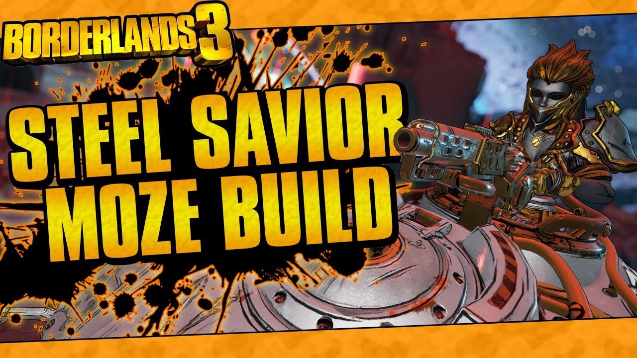 Borderlands 3 | Steel Savior Moze (Best Iron Bear Build, Insane Damage, Lvl 65 Mayhem 10!) thumbnail