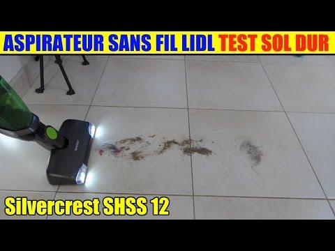 lidl-aspirateur-sans-fil-silvercrest-12v-test-sol-dur-+-avis-vacuum-cleaner