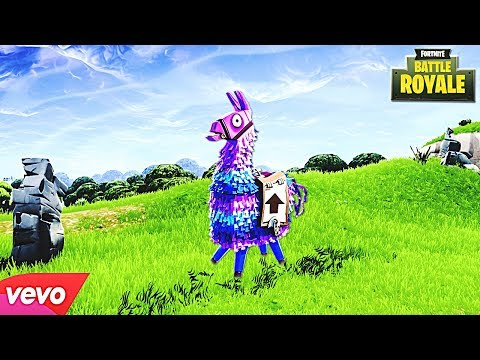 "♫ ""Lama daje dobry loot"" - FORTNITE PIOSENKA (PARODIA Llama In My Living Room) ♫"