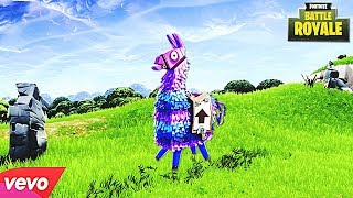 Lama daje dobry loot FORTNITE PIOSENKA PARODIA Llama In My Living Room