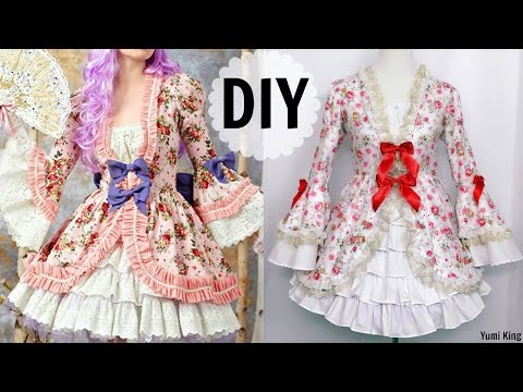 DIY European Historic/Rococo Inspired Dress | Gorgeous & Elegant & Fancy Dress