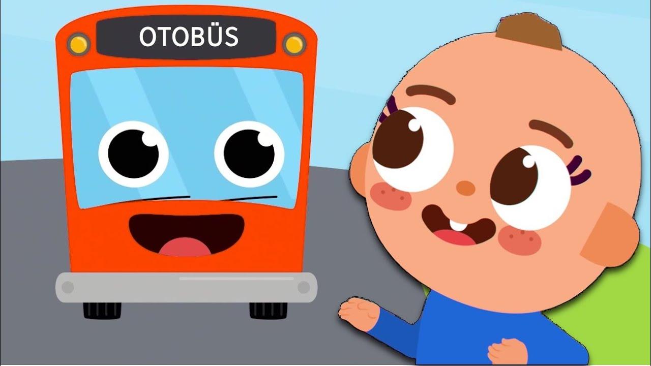 Otobüsün Tekeri Dönüyor - Bebekler İçin Eğlenceli Şarkılar