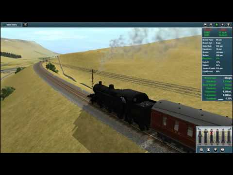 Trainz Race : Garsdale - Hawes Return w/ Ben ft. Mak Part 1 |