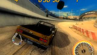 Flatout 2 - Figure Of Eight 1 (All Events Gameplay)
