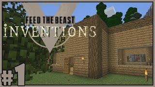 Home Sweet Home - Minecraft FTB Inventions Multiplayer - Part 1 [Let