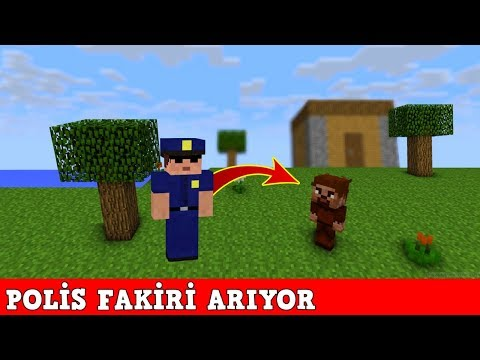 ZENGİN VS FAKİR #130 - Polis Fakiri Arıyor (Minecraft) thumbnail