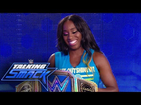 How Naomi made the SmackDown Women's Title glow: WWE Talking Smack, July 4, 2017 (WWE Network)