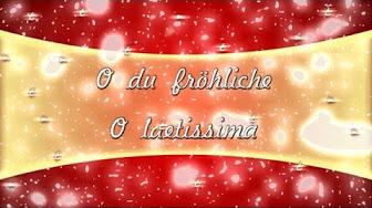 O Tannenbaum Latein.Weihnachtslieder Latein Youtube