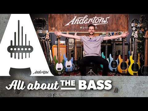 Music Man Stingray Basses 2018 - In stock at Andertons now!