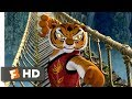 Kung Fu Panda (2008) - The Furious Five Bridge Fight Scene (7/10) | Movieclips