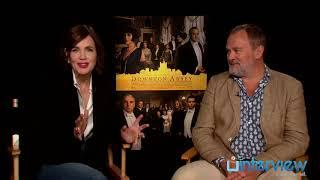 Elizabeth McGovern & Hugh Bonneville On 'Downton Abbey'