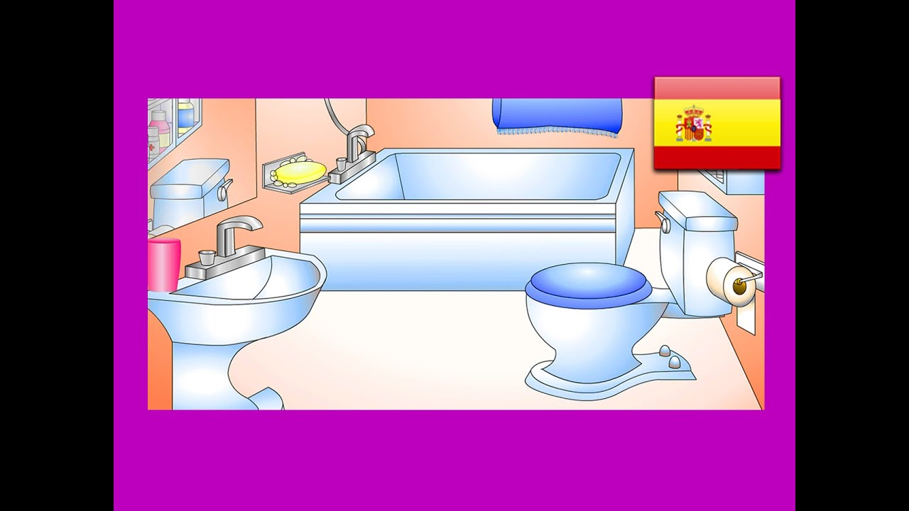 bathroom sink in spanish in the bathroom lesson 12 clip learn ba 241 o 16520