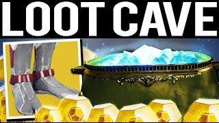 INSANE LOOT CAVE BROKEN UNLIMITED EXOTIC FARM - Destiny 2
