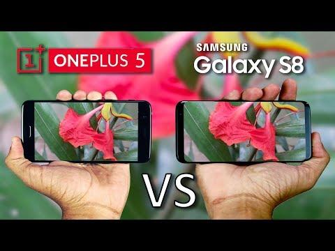 OnePlus 5 vs Galaxy S8 Camera Comparison!