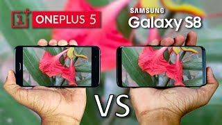 OnePlus 5 vs Galaxy S8 Camera Comparison!
