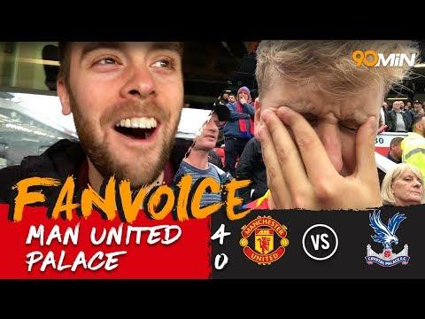 Fellaini scores twice to demolish Palace! | Man United 4-0 Crystal Palace | FanVoice