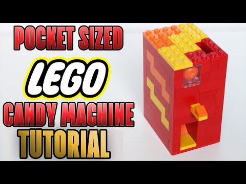 how to make a lego gumball machine with change rejection