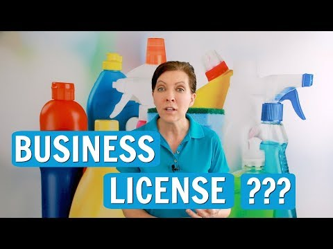 Business License - Do You Need One to Clean?