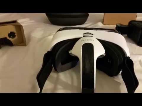 Samsung Gear VR vs Google Cardboard