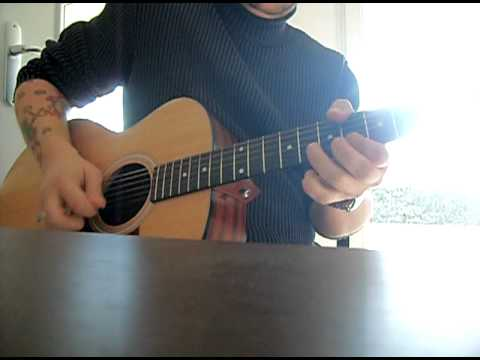 Blues solo acoustic (Long Distance Blues Joe Bonama)