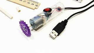 USB бормашинка своими руками? / Simple USB drill with your own hands