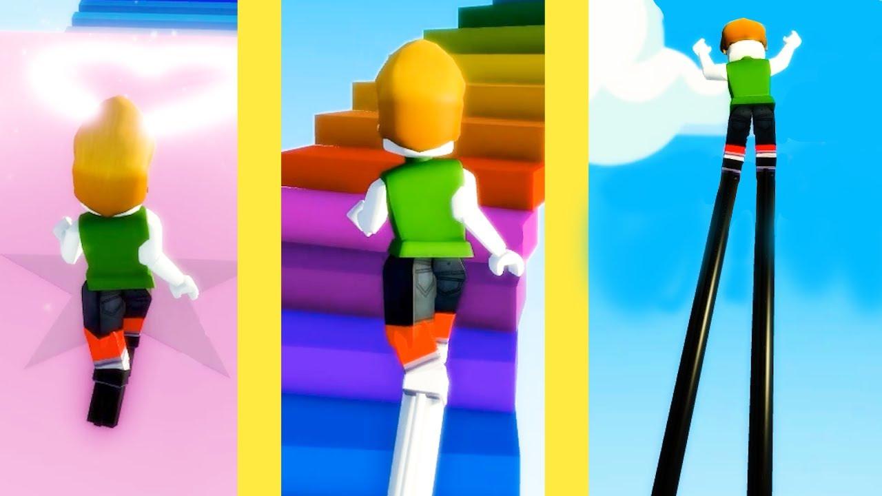 天空まで「ハイヒールを伸ばす」育成ゲームが恐ろしいロブロックス【Roblox】
