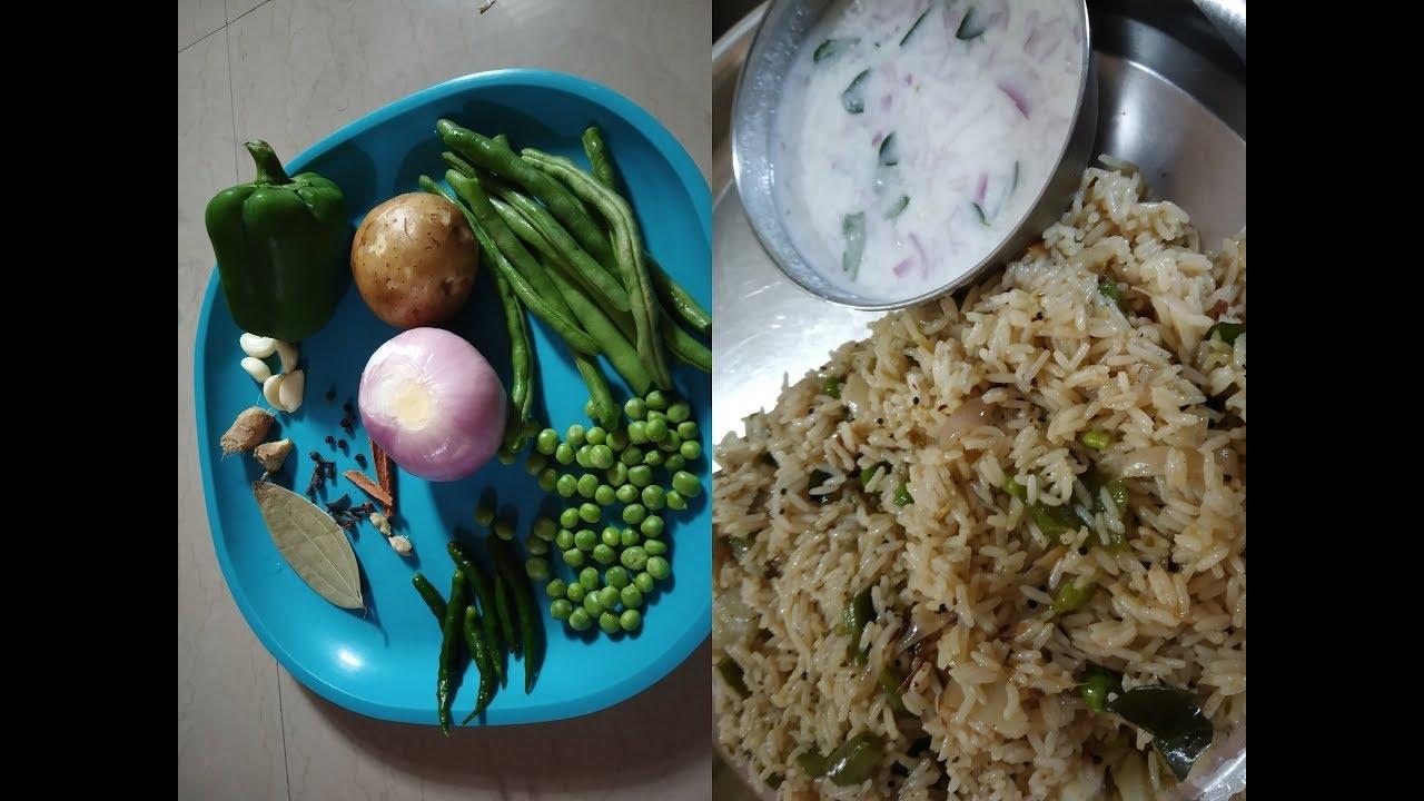 #rice bath #ರೈಸ್ ಬಾತ್#पुलाव#how to make rice bath