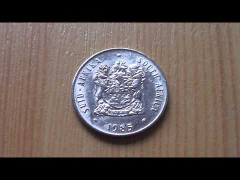 Suid-Afrika - South Africa - 20 Cent coin from 1985 in HD