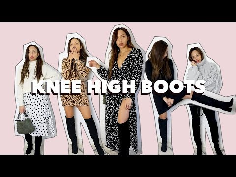 How to wear Knee-High boots without looking Risqué