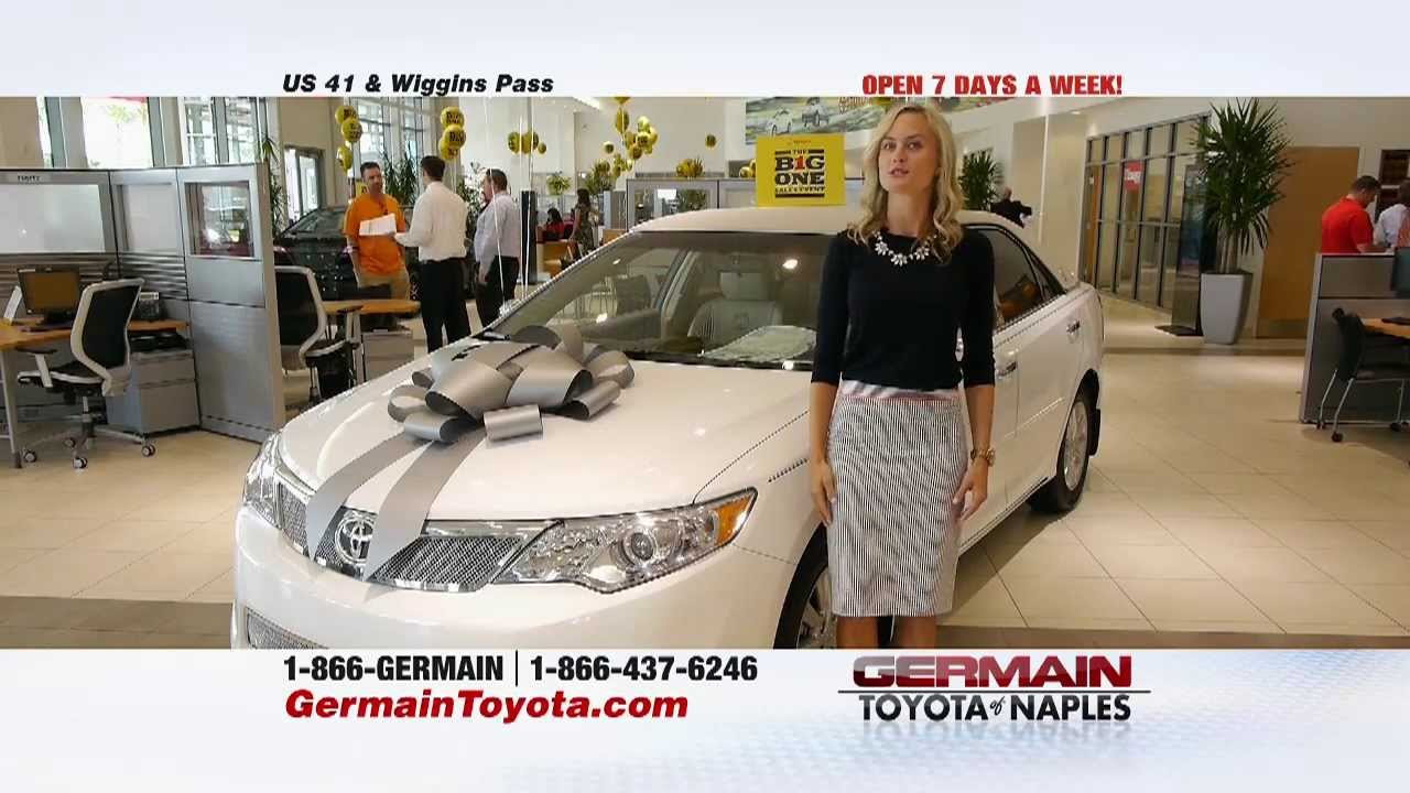 Big One Germain Toyota Of Naples Youtube