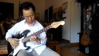 Học guitar căn bản cho người mới bắt đầu - Hoa thơm bướm lượn - độc tấu ghi ta