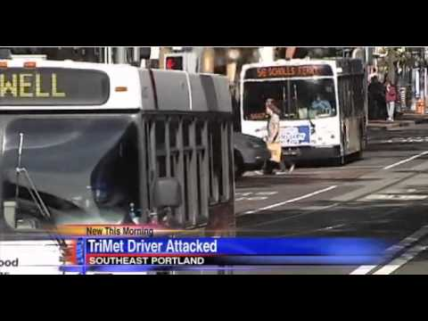 Passengers subdue man who attacked TriMet bus driver-KATU (Valarie Hurst)