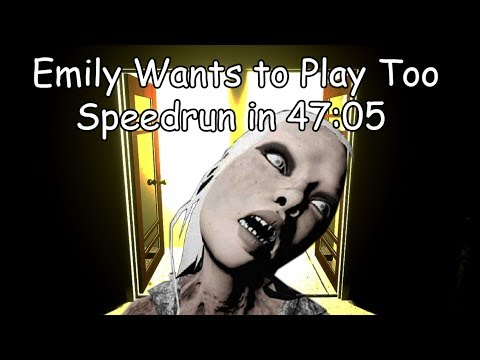 Emily Wants To Play Too Speedrun In 47:05
