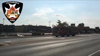 Responding - Tecumseh Truck 1 To a Vehicle Accident