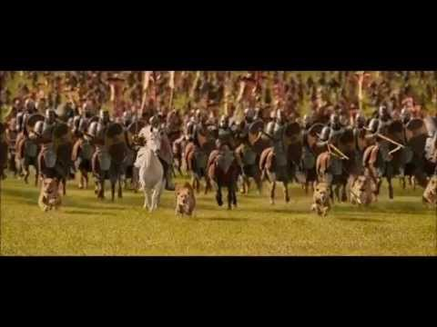 The chronicles of Narnia war scene(with fitting music ...