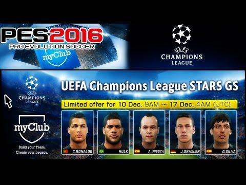 Buscando A Los Mejores De La UEFA CHAMPIONS LEAGUE -  FICHANDO ESTRELLAS - PES 2016 MyClub
